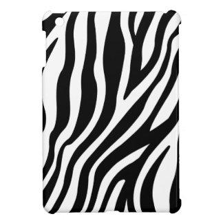Zebra Print Black And White Stripes Pattern Case For The iPad Mini