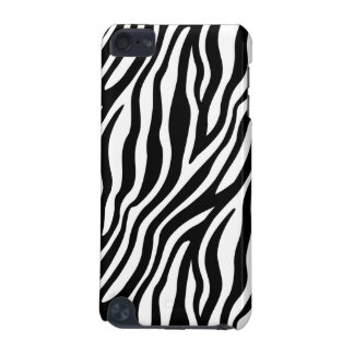 Zebra Print Black And White Stripes Pattern iPod Touch 5G Covers