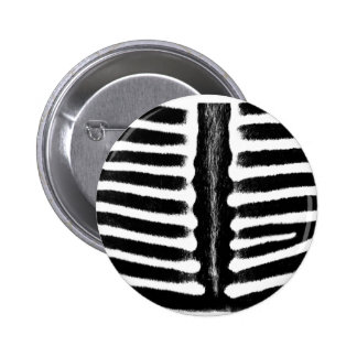 Zebra print black buttons