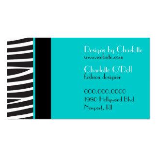 Zebra Print Business Cards