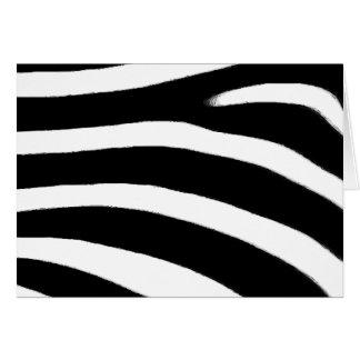 Zebra Print Cards