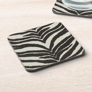 Zebra Print Coaster Set