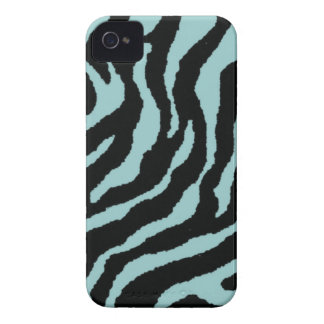 Zebra Print Custom Blackberry Barely There Case Case-Mate iPhone 4 Cases