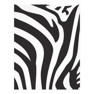 Zebra Print Full Color Flyer