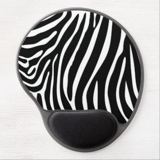 Zebra Print Gel Mouse Pad