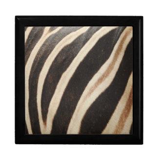 Zebra Print Gift Box