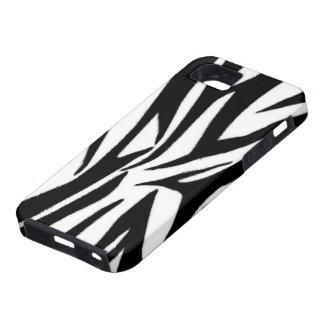 Zebra Print iPhone 5 Case-Mate Case