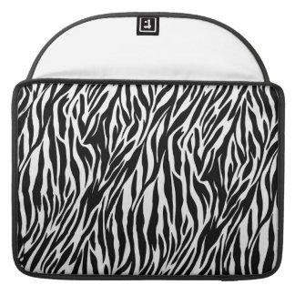 "Zebra Print - Mac Book Air 15"" Sleeve For MacBook Pro"