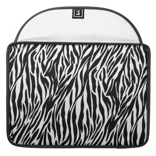"Zebra Print - Mac Book Air 15"" MacBook Pro Sleeves"
