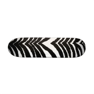 Zebra Print Skate Decks