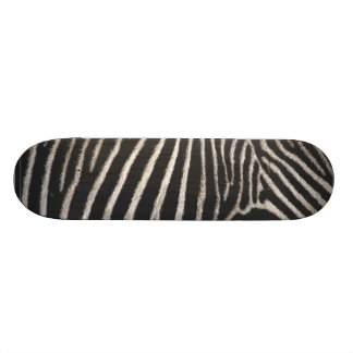 Zebra Print Skateboard Deck