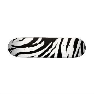 Zebra Print Skateboard Mini