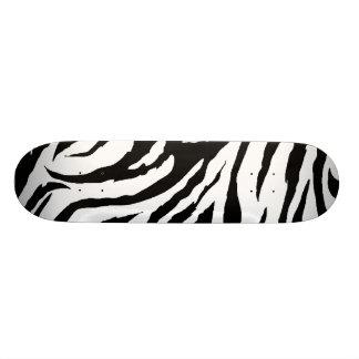 Zebra Print Skateboard Pro