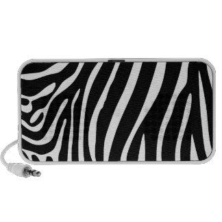 Zebra Print Travel Speakers