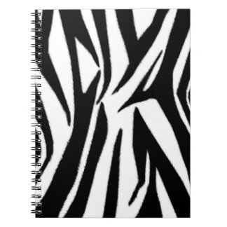 Zebra Print Spiral  Notepad Notebooks