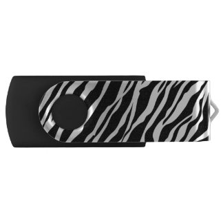 Zebra Print USB Flash Drive