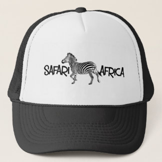 Zebra Safari Cap