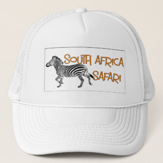Zebra Safari South Africa Cap