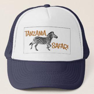 Zebra Safari Tanzania Cap