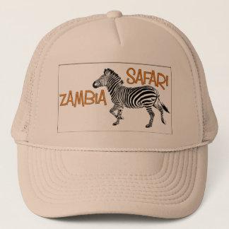 Zebra Safari Zambia Cap