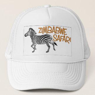 Zebra Safari Zimbabwe Cap
