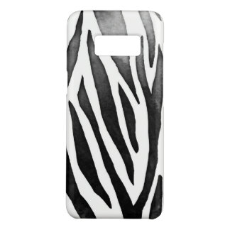Zebra Samsung Galaxy S8, Barely There Phone Case