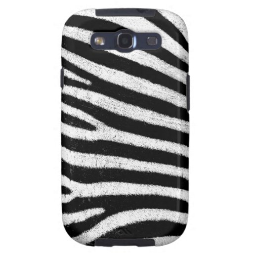 Zebra Samsung Galaxy S Case Galaxy S3 Cover