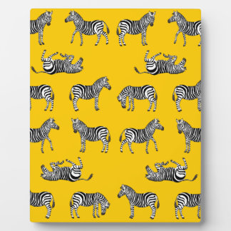 Zebra selection plaque