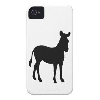 Zebra silhouette iPhone 4 Case-Mate cases