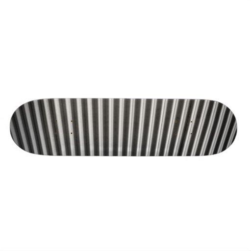 zebra custom skate board
