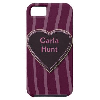 """Zebra Skin lilac/deep/pink""case mate"".* iPhone 5 Covers"