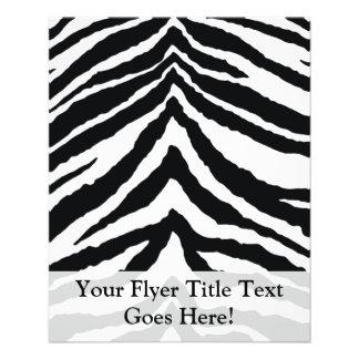 Zebra Skin Print 11.5 Cm X 14 Cm Flyer