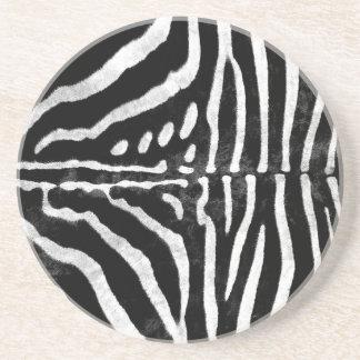 Zebra Skin Print Coasters