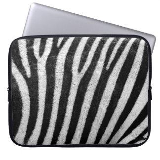 Zebra Skin Print Computer Sleeves