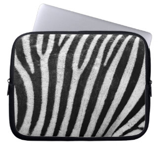 Zebra Skin Print Laptop Sleeves
