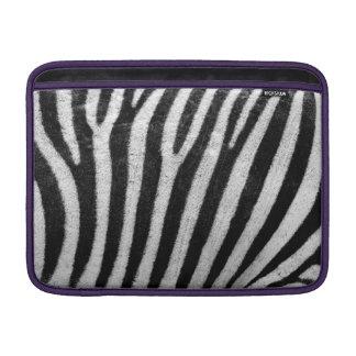 Zebra Skin Print MacBook Sleeves