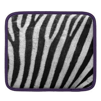 Zebra Skin Print Sleeve For iPads