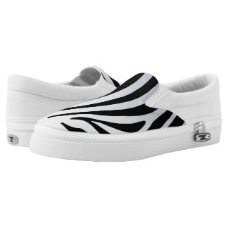 Zebra Slip on shoe