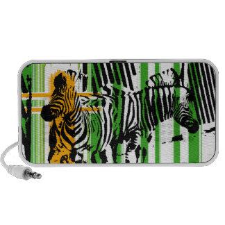 Zebra iPhone Speakers