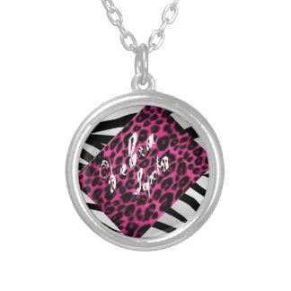 Zebra Spots Necklaces