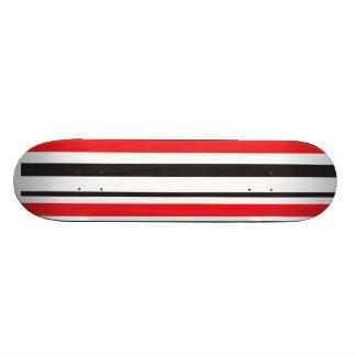 Zebra Stripe 18.1 Cm Old School Skateboard Deck