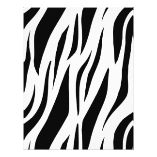 Zebra Stripe 21.5 Cm X 28 Cm Flyer