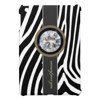 zebra, stripe and diamond iPad mini covers