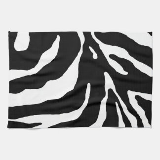 Zebra Stripe Animal Print Tea Towel