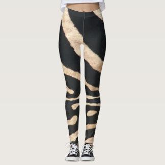 Zebra Stripe Leggings