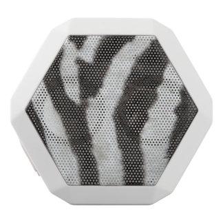 Zebra Stripe Pattern White Boombot Rex Bluetooth Speaker