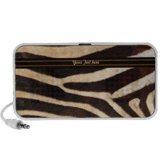 Zebra Stripe Notebook Speaker