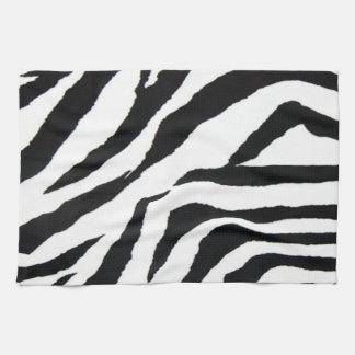 Zebra Striped Print American MoJo Kitchen Towel