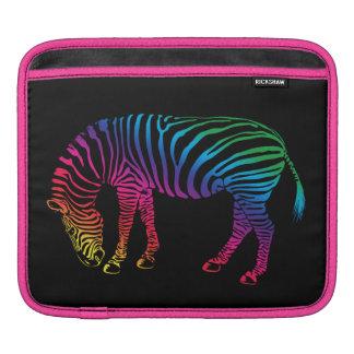 Zebra Stripes Animal Art Sleeve For iPads