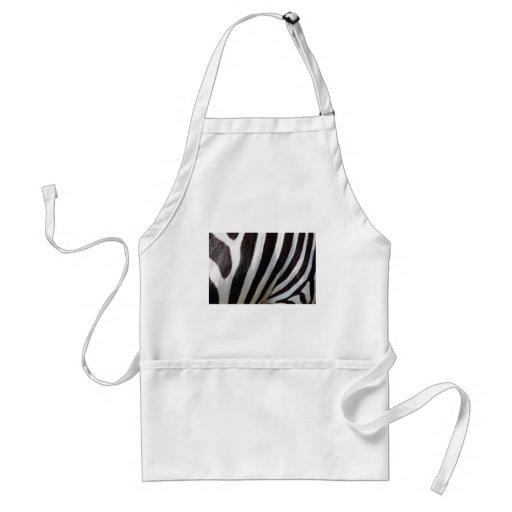 Zebra Stripes Apron